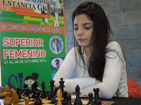 El juego de ajedrez de Florencia Fernández es imparable ...