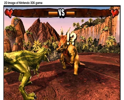 El juego de los dinosaurios de Nintendo 3DS, camino al ...