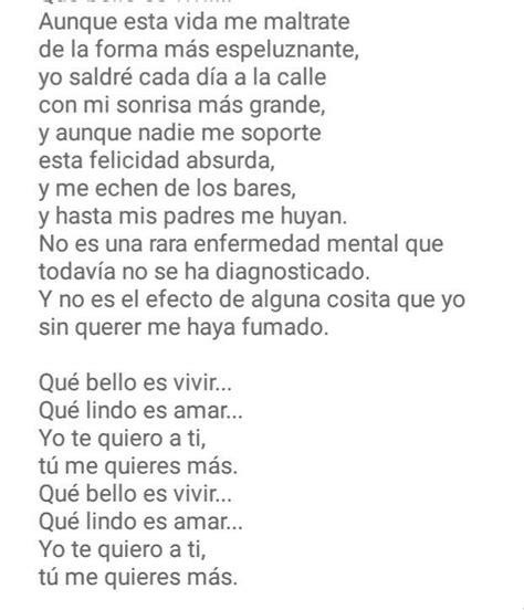 El kanka   que bello es vivir   3 | Letras de canciones ...