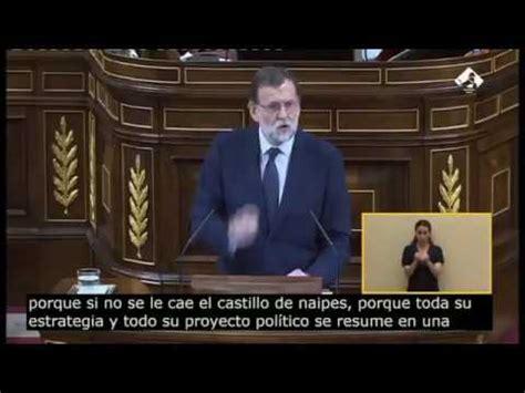 El lapsus más absurdo de Mariano Rajoy:  Cuanto peor mejor ...