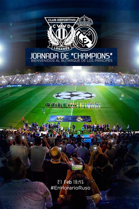 El Leganés promociona el partido contra el Real Madrid con ...