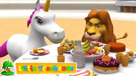 El león y el unicornio   Canciones para bebes   Little ...