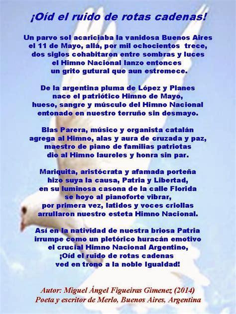 El Magazin de Merlo: 11 de Mayo, Día del Himno Nacional ...