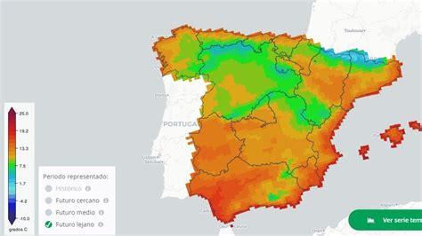 El mapa de las temperaturas y lluvias de las próximas ...
