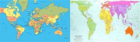 El Mapa de Los Pobres: Mercator vs Gall Peters   Diario Voces
