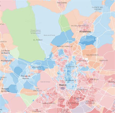 El mapa del voto en toda España, calle a calle   Noticias ...