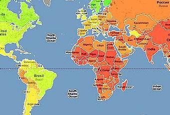 El mapamundi de la felicidad   Paperblog