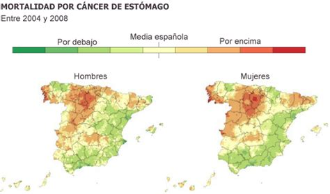 El mayor mapa del cáncer en España demuestra la ...