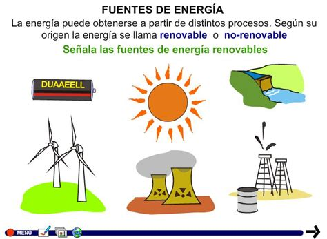 El medio ambiente y las fuentes de energia