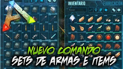 *EL MEJOR COMANDO* PARA SPAWNEAR SETS DE ARMAS E ITEMS ...