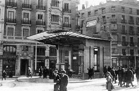 El metro de Gran Vía en Madrid volverá a lucir su templete ...