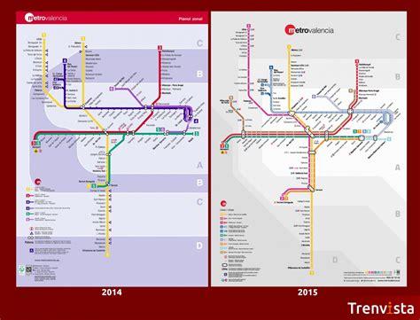 El metro de Valencia tendrá 9 líneas en 2015   Trenvista