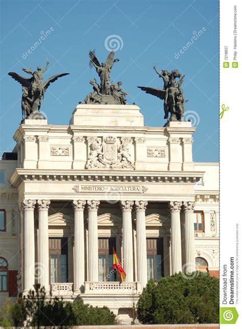 El Ministerio De La Agricultura En Madrid Imagen de ...