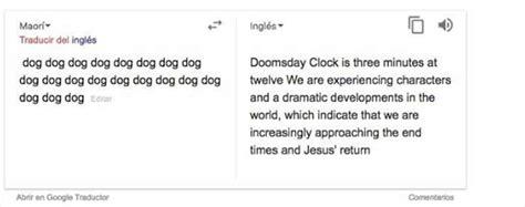 El misterioso truco del traductor de Google   INFO7