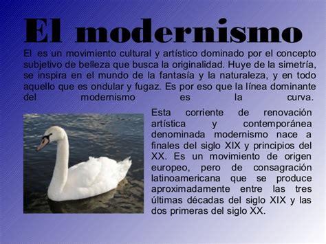 El modernismo  1