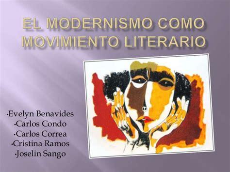 El modernismo como movimiento literario