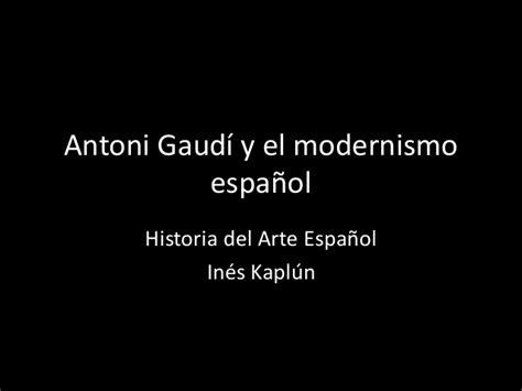 El modernismo español