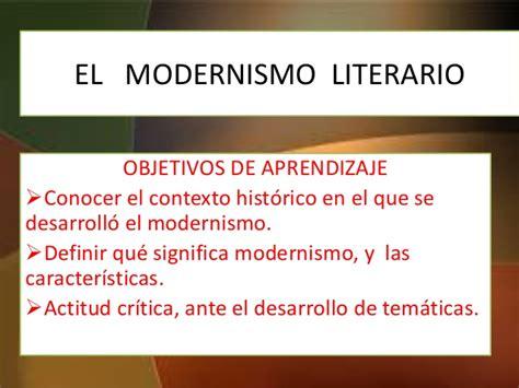 El modernismo lh
