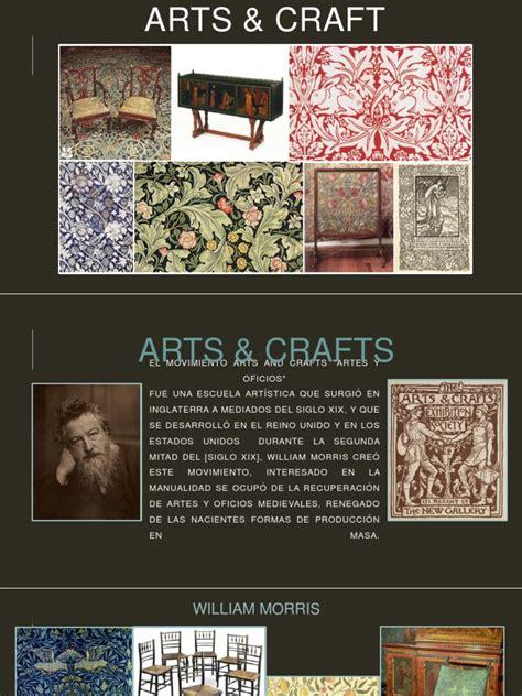 El Movimiento Arts and Crafts