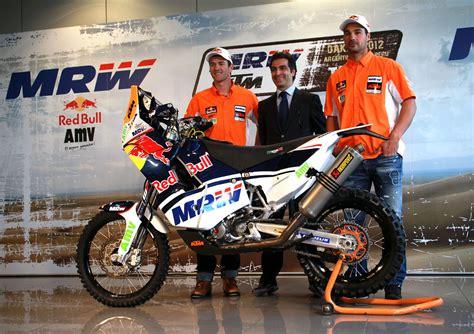 El MRW KTM Team Dakar 2012 se presentó oficialmente ...