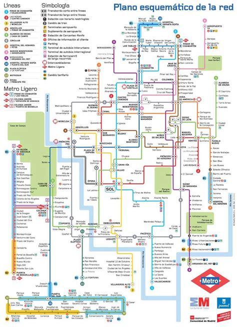 El mundo del Vigilante: Plano de Metro de Madrid y ...