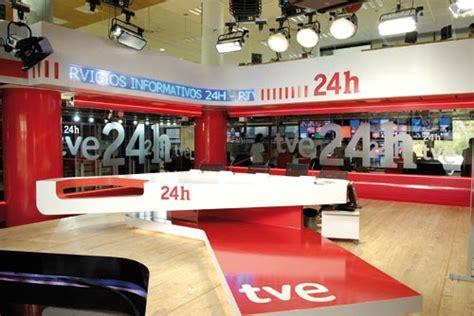 El nuevo estudio del Canal 24 horas de TVE – TM Broadcast