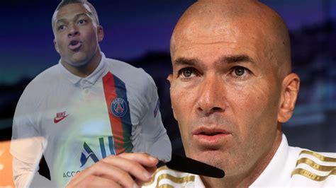 El nuevo guiño de Zidane a Mbappé:  Es de los mejores del ...