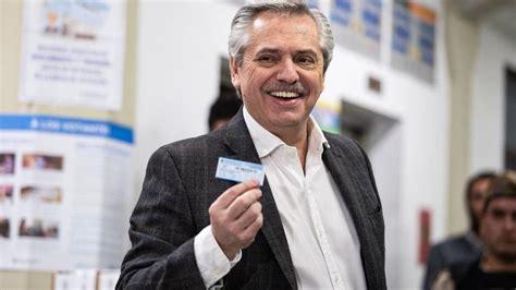 El opositor Alberto Fernández, el candidato más votado en ...