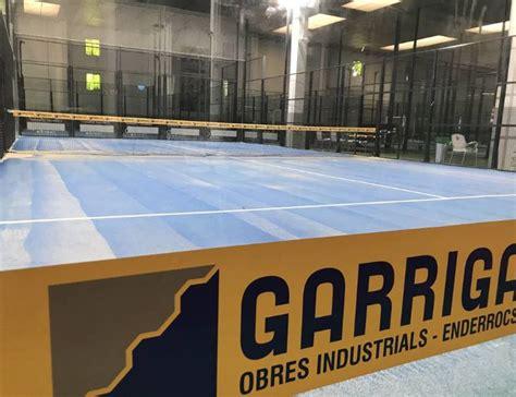 El Pàdel Indoor Granollers ja permet jugar en parelles o ...