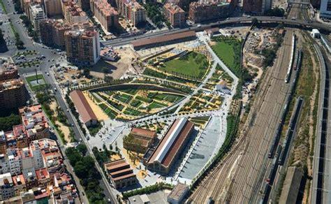 El Parque Central de Valencia, a vista de pájaro   Las ...