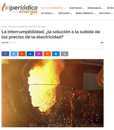 El Periódico de la Energía – La interrumpibilidad, ¿la ...