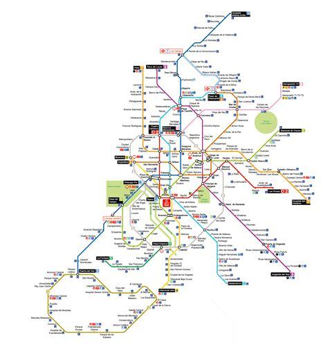 El plano del Metro de Madrid versión  garitos    BEATMASH ...