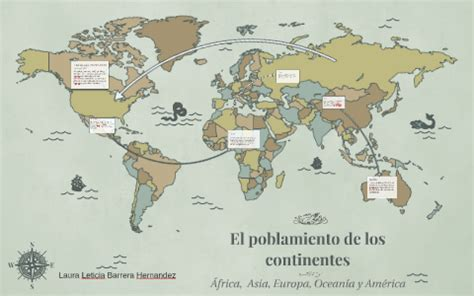 El poblamiento de los continentes by Prezi User on Prezi