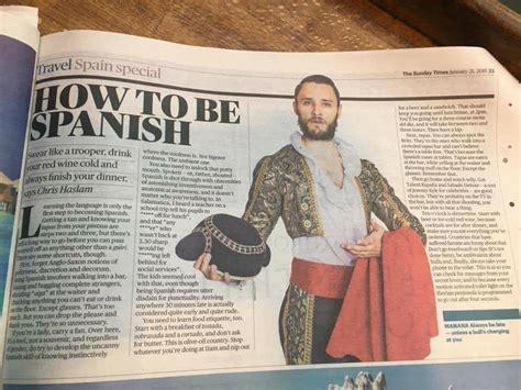 El polémico artículo sobre cómo ser español en The Times ...