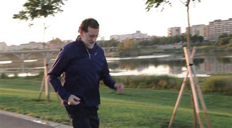 El PP muestra a Rajoy  Caminando Rápido  en una serie de ...