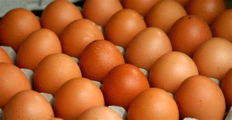 El precio de los huevos de gallina