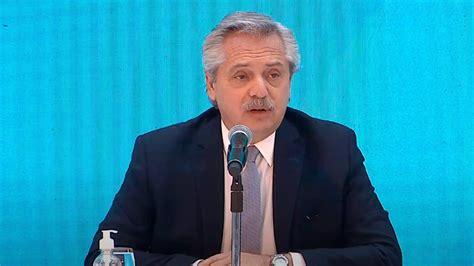 El presidente Alberto Fernández recorre hoy obras públicas ...
