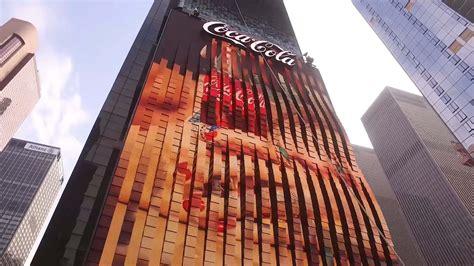 El primer anuncio en 3D es de Coca Cola   Rotulos Xprinta