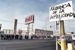 El primer día de huelga indefinida en Coca Cola paraliza ...