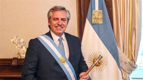 El primer día del presidente Alberto Fernández   Poltica ...
