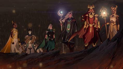 El príncipe dragón Temporada 1 Completa WEB DL 720p Audio ...