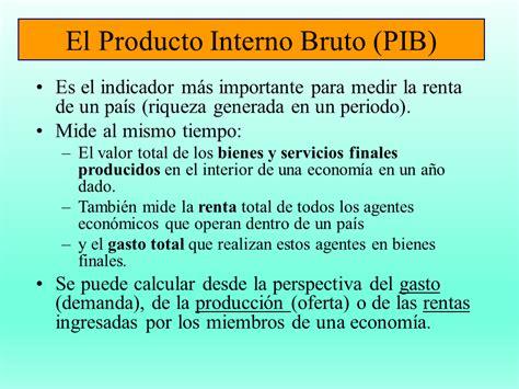 El Producto Interno Bruto  Powerpoint    Monografias.com