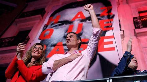 El PSOE de Pedro Sánchez gana las elecciones en España y ...