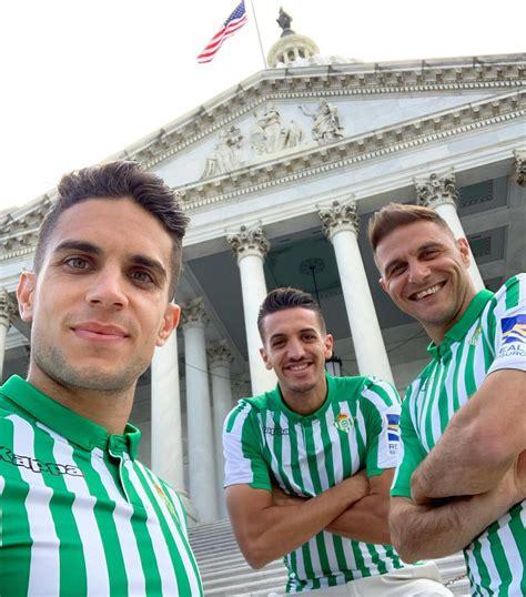 El Real Betis estrena su primera equipación 2019/2020 ...