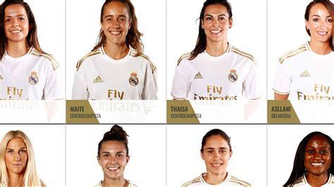 El Real Madrid Femenino confirma a sus 22 jugadoras para ...