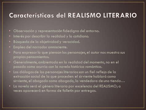 El realismo literario ¿La vida reflejada a través de un ...