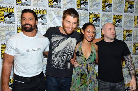 El reparto de  Spartacus  en la Comic Con 2012: Fotos ...