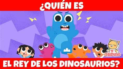 El Rey De Los Dinosaurios  El Tiranosaurio Rex! | HiDino ...