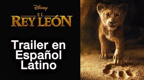 EL REY LEON 2019   Teaser Trailer en Español Latino ...