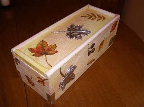 El rincón de Reme: Caja de vino decorada  el antes y el ...